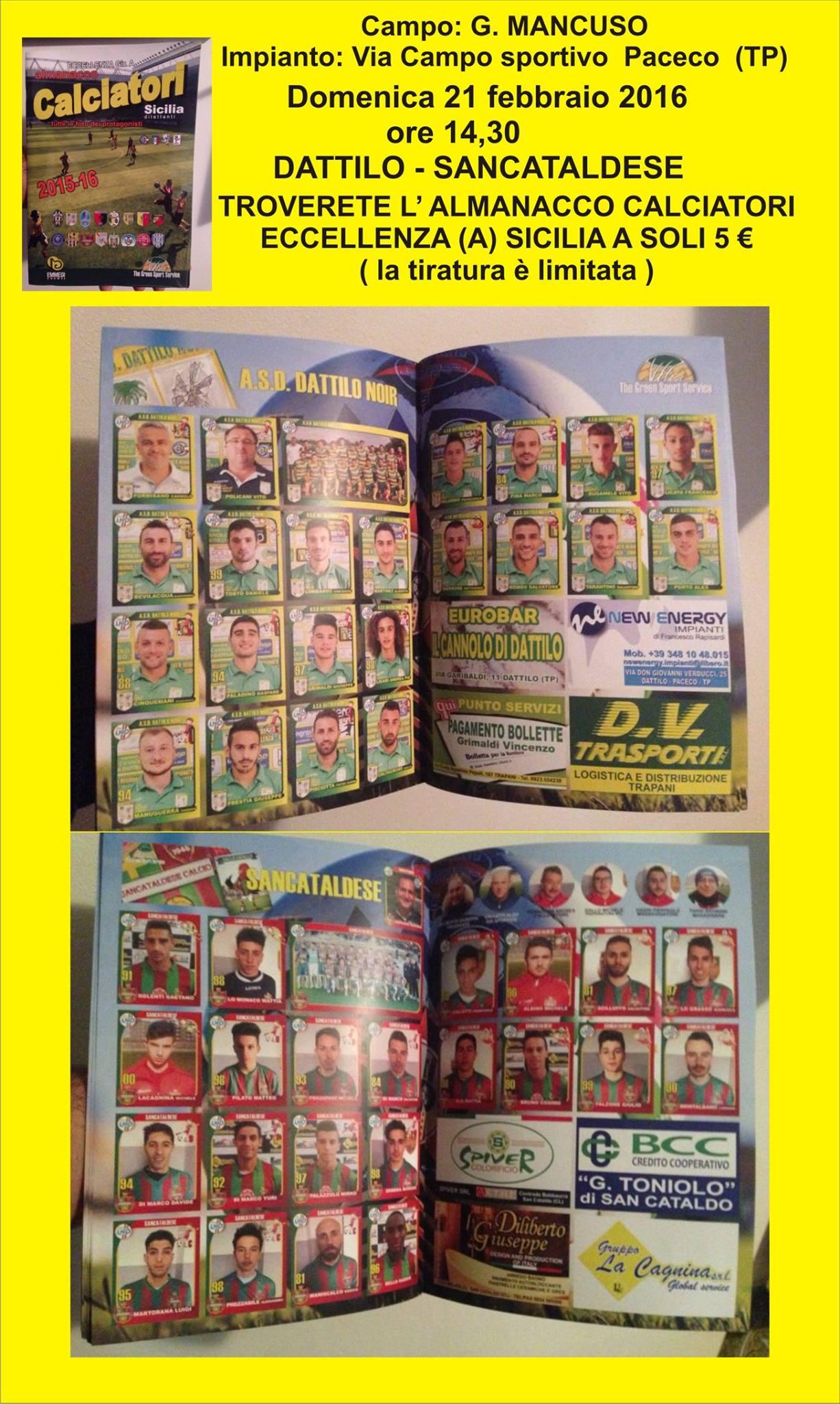 l'almanacco calciatori eccellenza