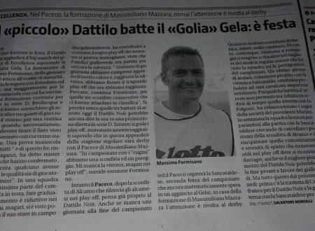 """Il """"piccolo"""" Dattilo"""" batte il """"Golia"""""""