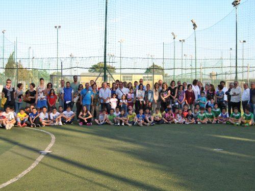 Il saluto di fine anno calcistico ai ragazzi della Scuola Calcio