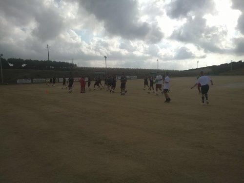 2^ giornata di allenamento per la 1^ Squadra