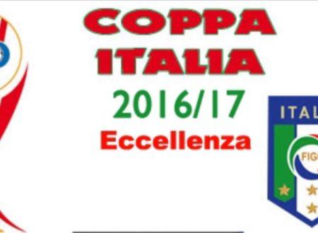 Coppa Italia Eccellenza Gr A – Risultati 28/08/2016