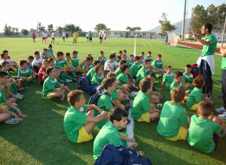 Inizia la Scuola Calcio Dattilo Noir