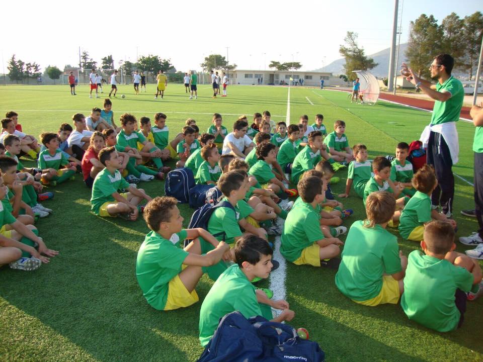 apertura scuola calcio 16-17