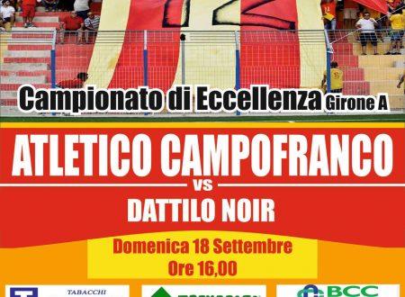 Atletico Campofranco / Dattilo Noir – Domenica 18 Settembre