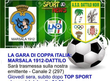 In Tv Marsala 1912 – Dattilo Noir Coppa Italia Italia