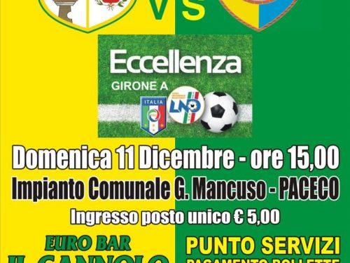 Domenica 11.12.16 Dattilo/Licata