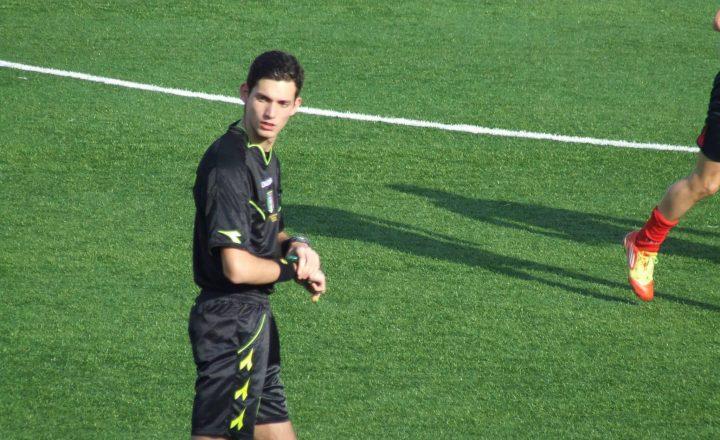 Saputo Fabio l'arbitro  domenica 11/12/2016