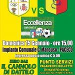 Dattilo / Campofranco  - domenica 15.01.17