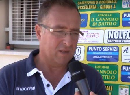 Intervista e cronoca gara  Dattilo Noir – Mazzara Calcio