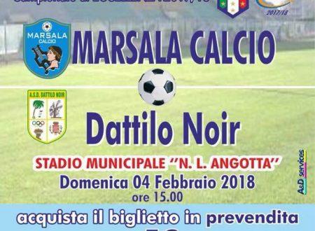 Gara Marsala calcio VS Dattilo Noir