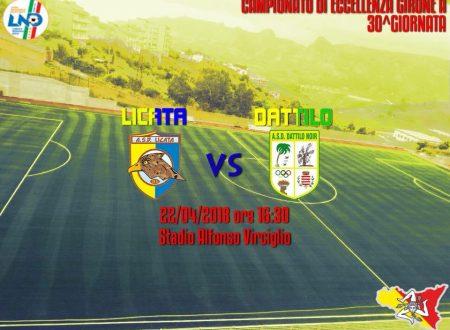 Finale Licata VS Dattilo Noir 2 – 2