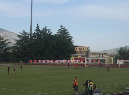 Il primo tempo termina con il risultato di 2 a 0 per il Castrovillari