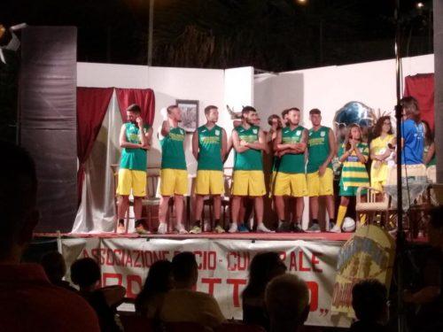 Presentazione della squadra – Estate 2018 a Dattilo