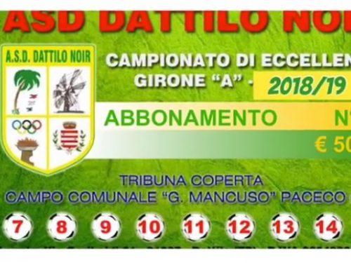"""""""CAMPAGNA ABBONAMENTI 2018/19"""" Campionato Eccellenza Girone A ."""