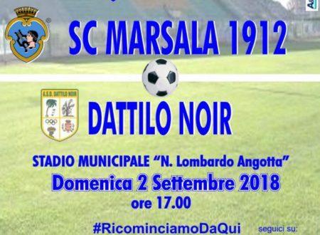 Coppa Italia Eccellenza SC Marsala 1912 VS ASD Dattilo Noir 02/09/2018