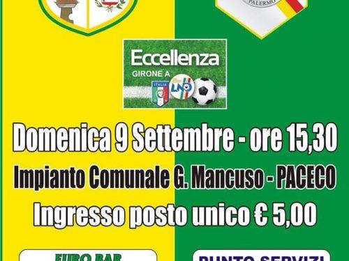 Domenica 09/09/2018 ore 15:30 – Dattilo Noir VS CUS Palermo