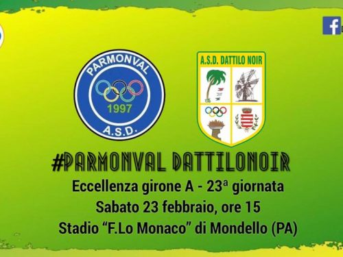 Parmonval vs Dattilo Noir – gara Eccellenza Girone A 23^ Giornata