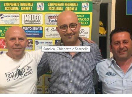 Mister Ignazio Chianetta  allenatore del 1^ Sq Dattilo Noir