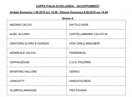 Coppa Italia Ecc. Gr  A/B