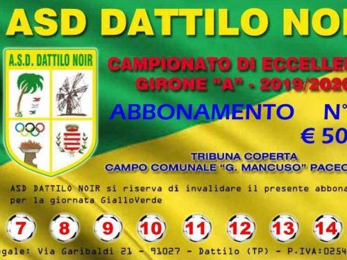 Abbonamenti ASD Dattilo Noir Campionato Eccellenza