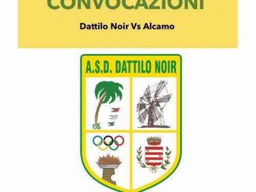 I convocati  per Dattilo Noir VS Alcamo
