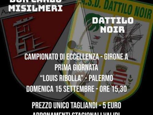 Misilmeri vs DattiloNoir 1ª giornata di Eccellenza girone A