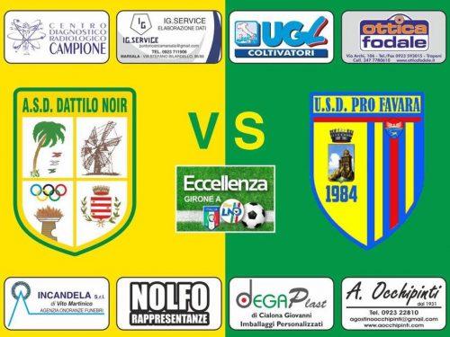 Domenica 06/10/19 ASD Dattilo Noir VS Pro Favara