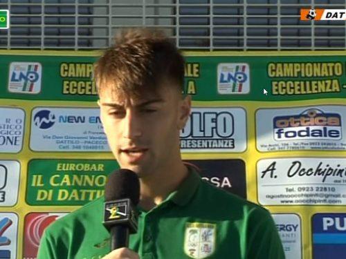 Video interviste Dattilo Noir VS Sporting Vallone