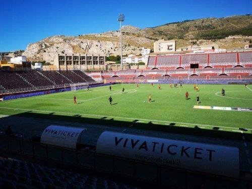 Il Dattilo al campo sportivo provinciale di Trapani Provinciale