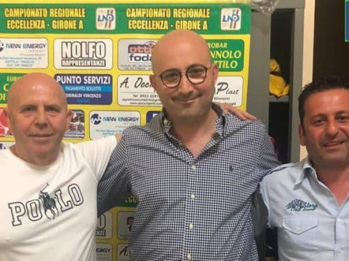 Il Dattilo conferma Mister Chianetta e il Direttore Sportivo Scarcella