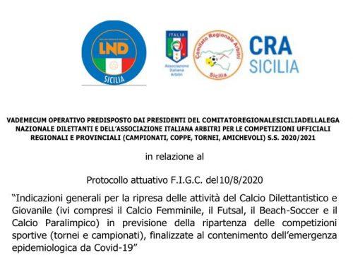 Protocollo attuativo FIGC del 10.08.2020