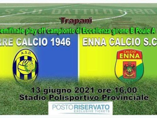 I biglietti della gara di finale  play off fra Giarre ed Enna potranno essere acquistati on line presso la piattaforma postorise…
