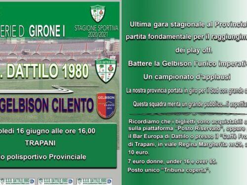 A post from SSD Dattilo Calcio 1980
