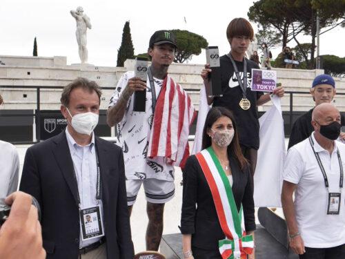 Conclusi i Mondiali di skate al Foro Italico: pista del Pietrangeli aperta al pubblico gratuitamente dal 15 luglio