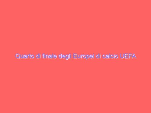 Quarto di finale degli Europei di calcio UEFA 2020. Modalità di accesso del pubblico